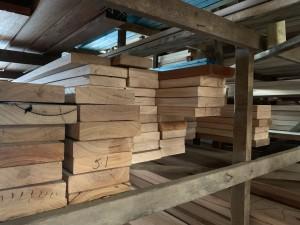 KD Black Butt rack - Timber product